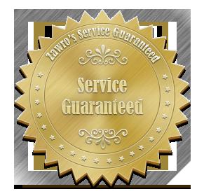Zawro's Service Guarantee